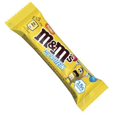 M&Ms Hi Protein Bar - 51 gr