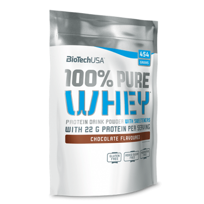 100% Pure Whey - 454 gr - Biotech USA