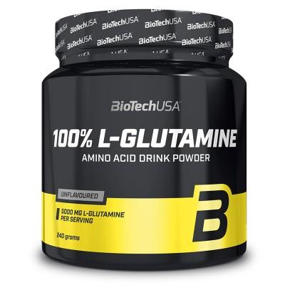 100% L-Glutamine - 240 gr