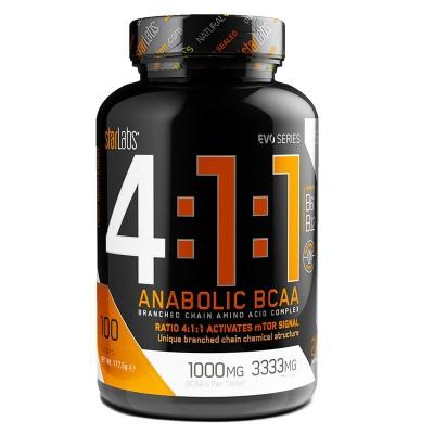 4:1:1 Anabolic BCAA - 100 tabs