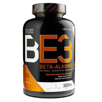 BE3 Beta-Alanine - 120 caps